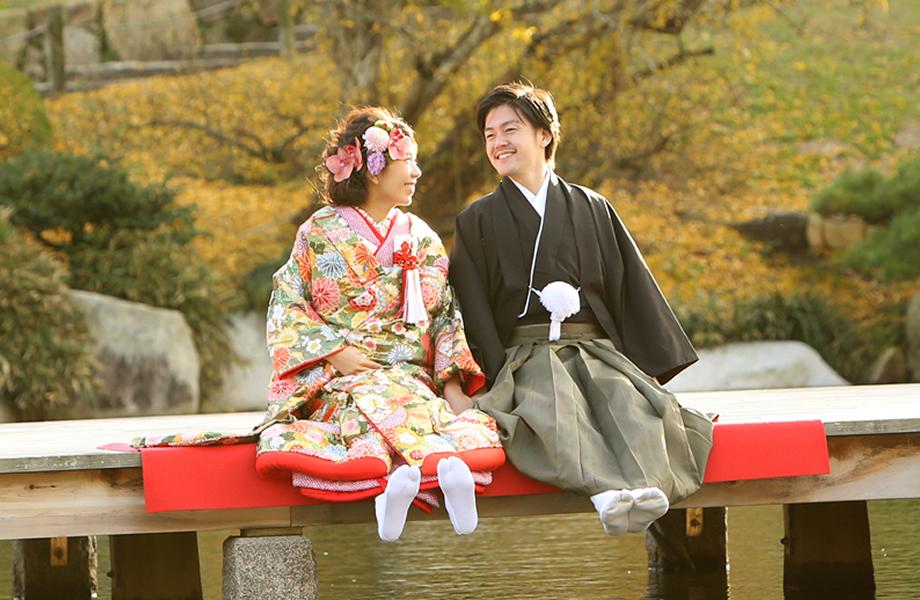 前撮付き広島護国神社挙式プラン